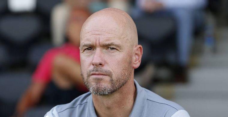 Ten Hag geheimzinnig over De Jong: 'Onvoldoende fit om wedstrijden te spelen'