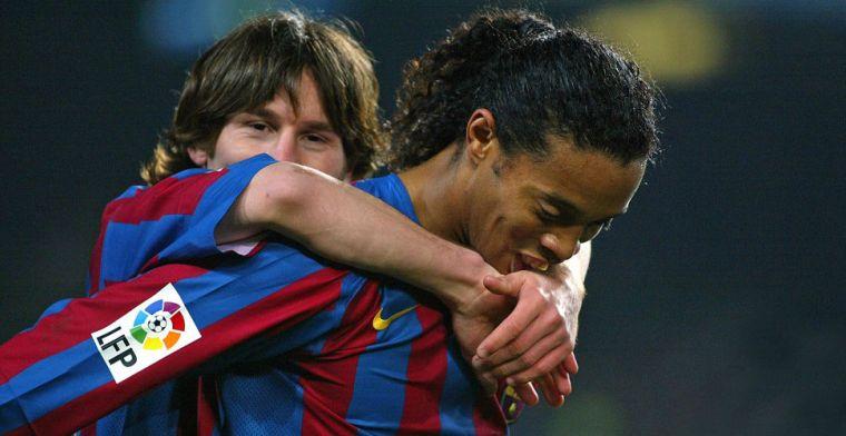 'Barcelona wilde Messi beschermen, want Ronaldinho trainde vaak dronken'