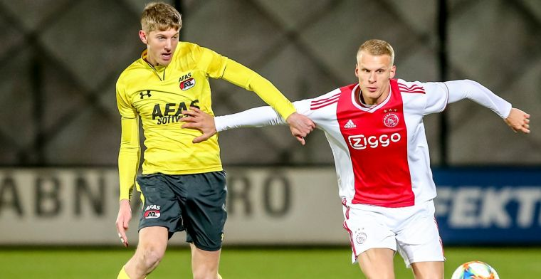 AZ stuurt middenvelder op huurbasis naar Leeuwarden: 'Maak ons gek!'
