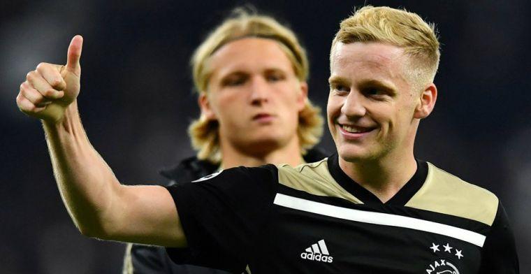 Van de Beek in de Spaanse spotlights; transferafspraak tussen Ajax en speler