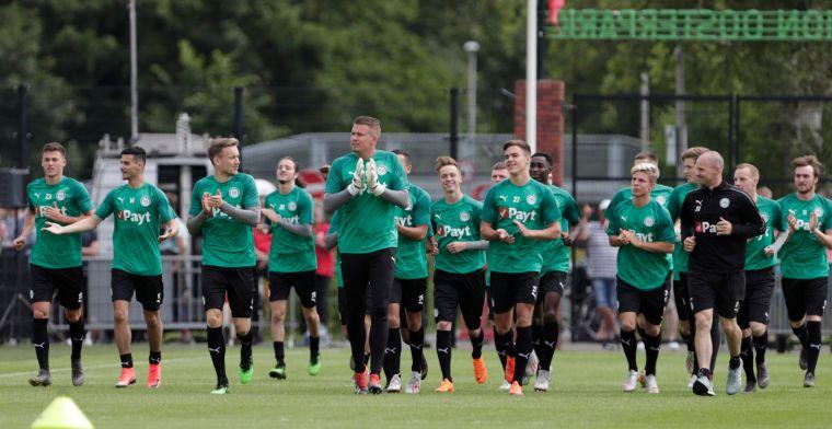 'Buitenproportionele' straf FC Groningen: 'Je pakt niet de daders, je pakt er 300'
