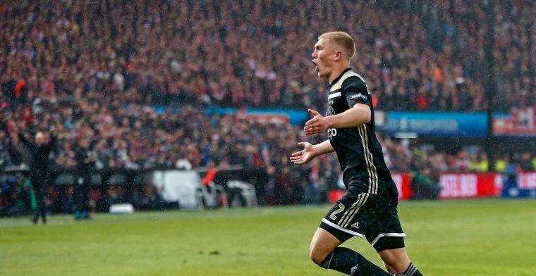 Kristensen op voorpagina lokale krant: 'Italiaanse interesse in Ajax-back'