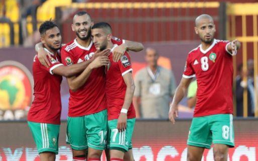 Afbeelding: Amrabat neemt Marokko bij de hand: Leeuwen van de Atlas naar achtste finale