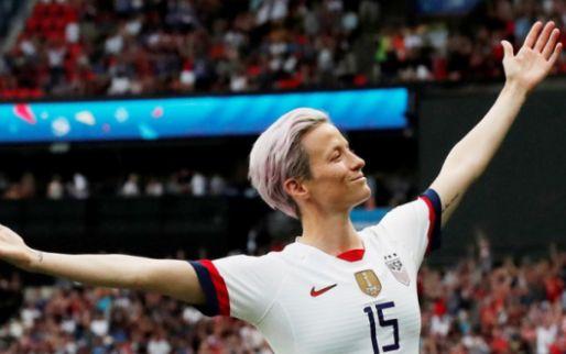 Afbeelding: Verenigde Staten houdt gastland Frankrijk nipt van het lijf in voetbalgevecht
