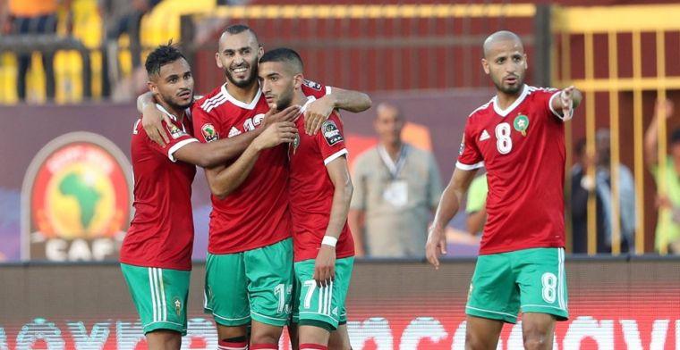 Amrabat neemt Marokko bij de hand: Leeuwen van de Atlas naar achtste finale