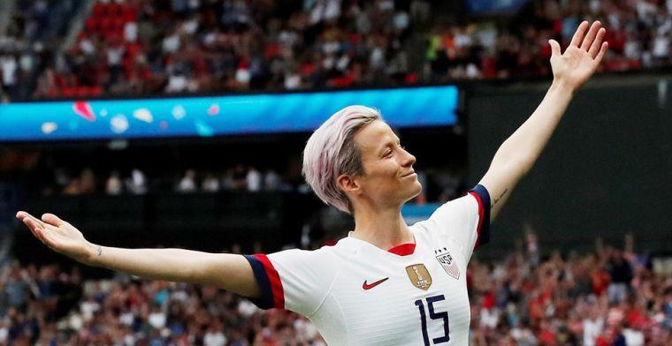 Verenigde Staten houdt gastland Frankrijk nipt van het lijf in voetbalgevecht