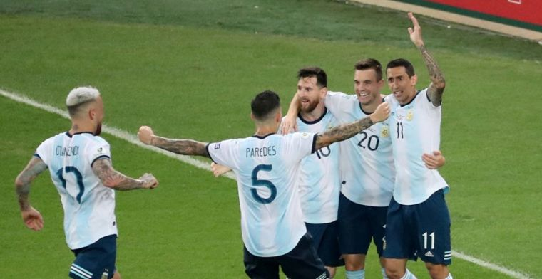 Droom Messi blijft levend: Argentinië wacht kraker tegen Brazilië in halve finale