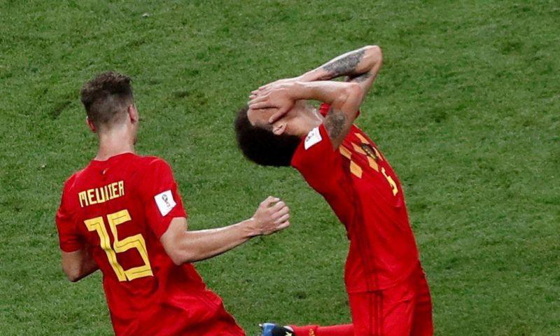 Afbeelding: Frankrijk vindt exit op het WK onterecht, Meunier reageert met kwinkslag