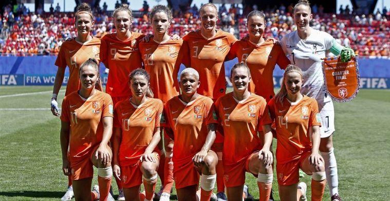 Oranje op rapport: Groenen, Martens en Miedema blikvangers bij 'Olympisch' Oranje
