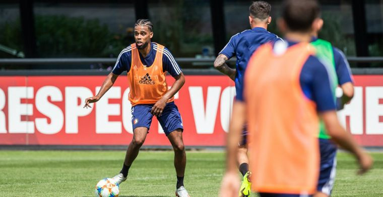 'Zoals het nu lijkt, speel ik gewoon bij Feyenoord. Ik wil me verder ontwikkelen'