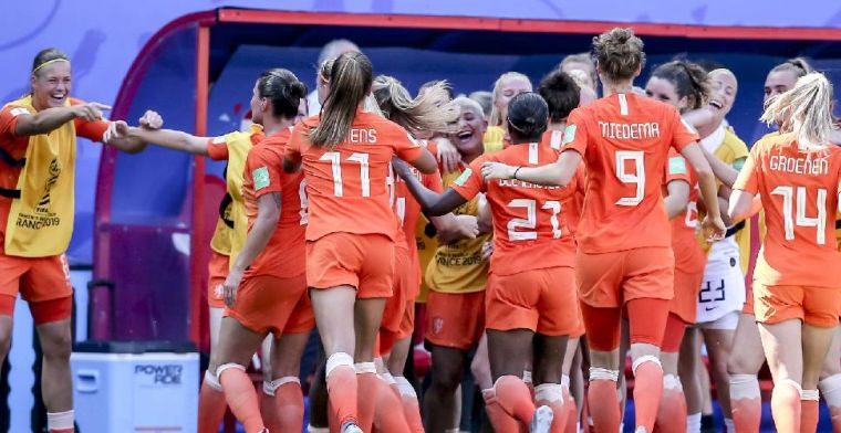Oranje stunt in Frankrijk: plek in halve finale én deelname aan Olympische Spelen