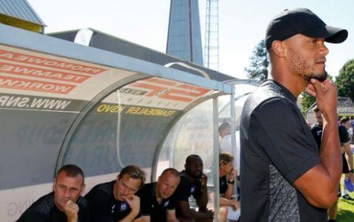 Afbeelding: Ook Anderlecht-tegenstander Oudenaarde is lovend: 'Kompany is een groot mens'