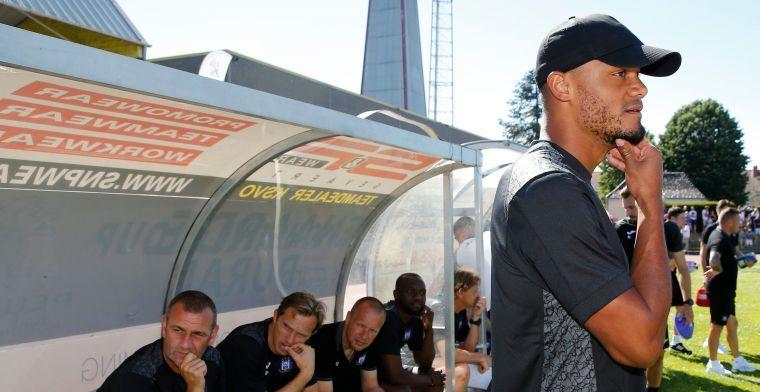 Ook Anderlecht-tegenstander Oudenaarde is lovend: 'Kompany is een groot mens'