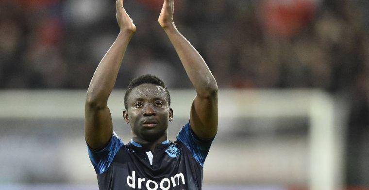 'Tweede Nederlandse club zet Dauda van Anderlecht op de verlanglijst'