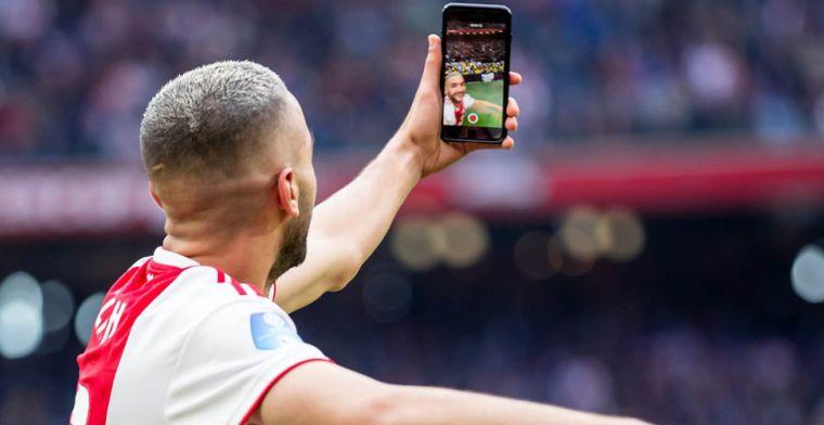 'Ziyech ziet helemaal niets in Spaanse transfer en blijft voorlopig bij Ajax'