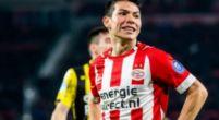 Image: 'Raiola recibe una tentadora oferta de España para el atacante del PSV Lozano'