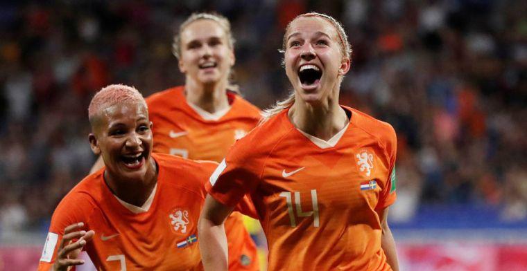 Oranje sprankelt niet, maar houdt stand en debuteert dankzij Groenen in WK-finale