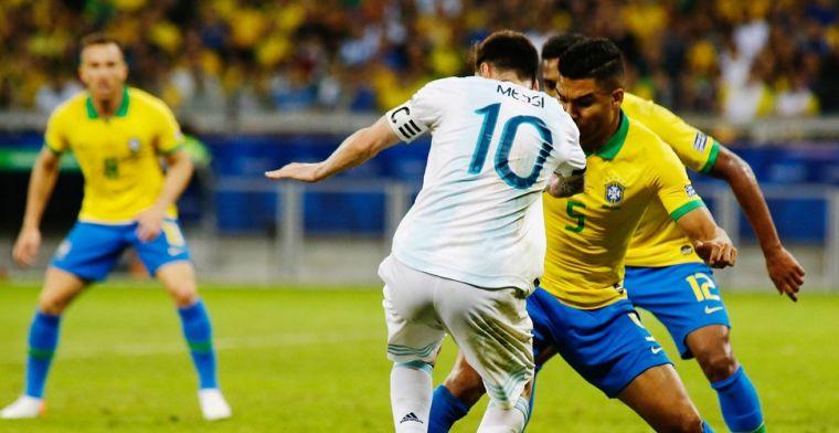 Effectief Brazilië laat droom van Messi en Argentinië in duigen vallen