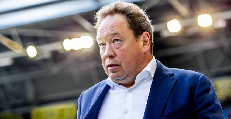 'Dat kun je vergeten, Ajax, PSV en Feyenoord zijn te goed. Plek vier is maximum'