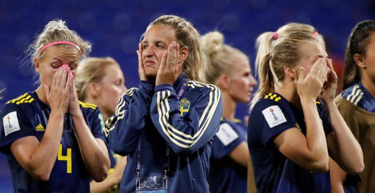 Zweedse media treuren om mislopen finale: 'Vreemd dat VAR daar niet naar keek'