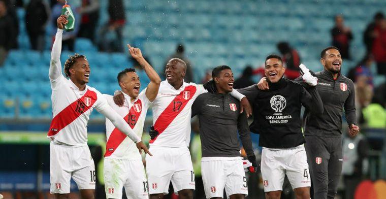 Geen drie op rij voor Chili: Peru wint verrassend ruim en mag naar Maracaña