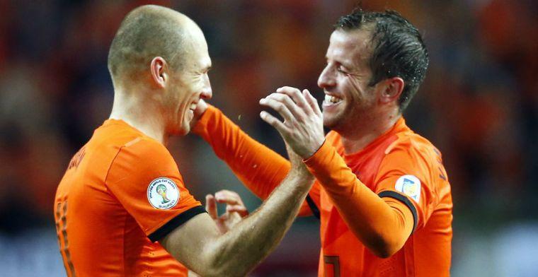 Van der Vaart over Robben-nieuws: 'PSV was nog in de markt, had ik graag gezien'