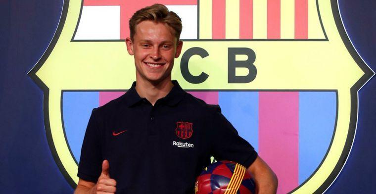 Barcelona está desempacando para Frenkie de Jong: No tengo idea de qué esperar.