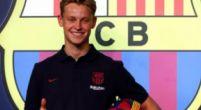 Image: 'Crisis en el Barça: Bartomeu explica Frenkie justo antes de la presentación'