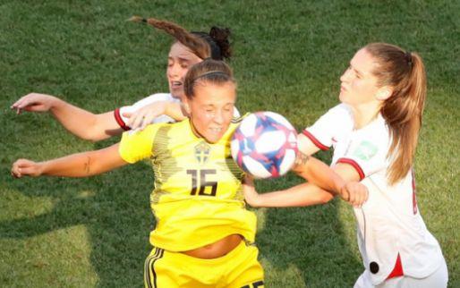 Afbeelding: Zweedse vrouwen houden Engeland van brons af in troostfinale WK