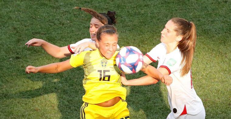 Zweedse vrouwen houden Engeland van brons af in troostfinale WK