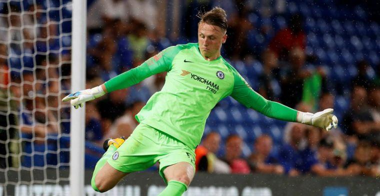 Paris Sant-Germain doet zaken met Chelsea en neemt Poolse doelman over