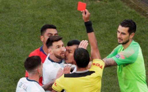 Afbeelding: Argentijnen en CONMEBOL op voet van oorlog na rood Messi: 'Ongefundeerde kritiek'