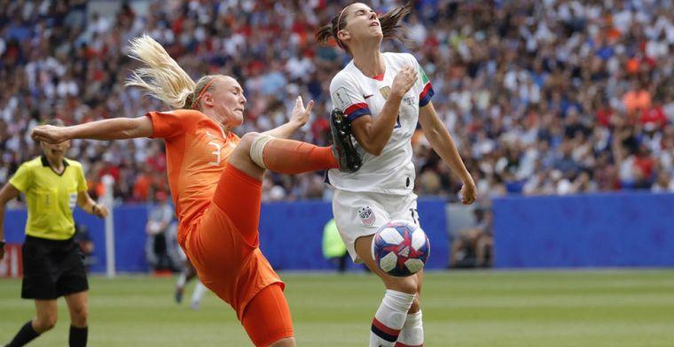 Amerikaanse vrouwen zijn te sterk voor Oranje Leeuwinnen, USA wereldkampioen