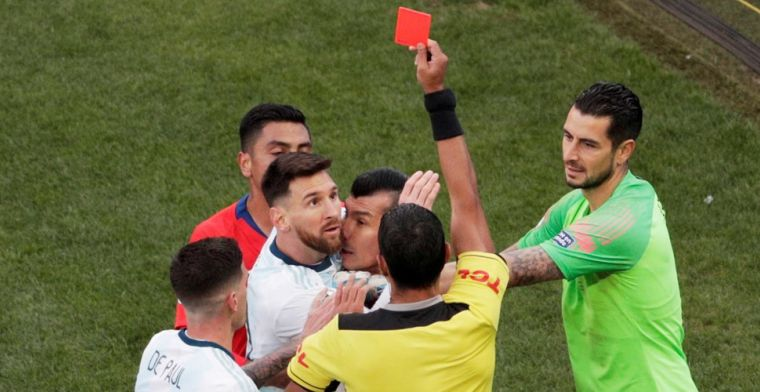Onrust na rood Messi: CONMEBOL en Argentinië gooien met modder