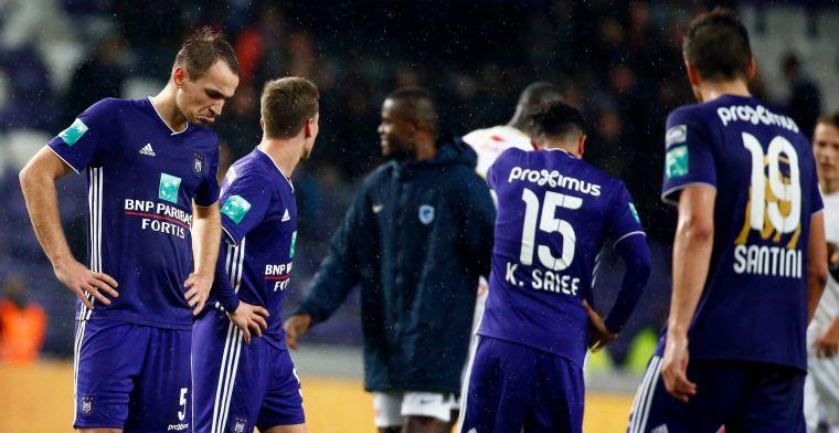 Tegenvaller voor Anderlecht en Makarenko, geen transfer door blessure