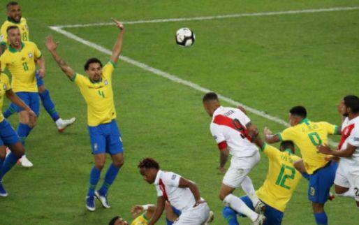 Afbeelding: Brazilië verslaat Peru en wint Copa America voor het eerst sinds 2007