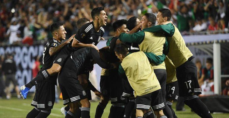 Mexico vestigt record met zege in finale Gold Cup: hoofdrol voor Dos Santos