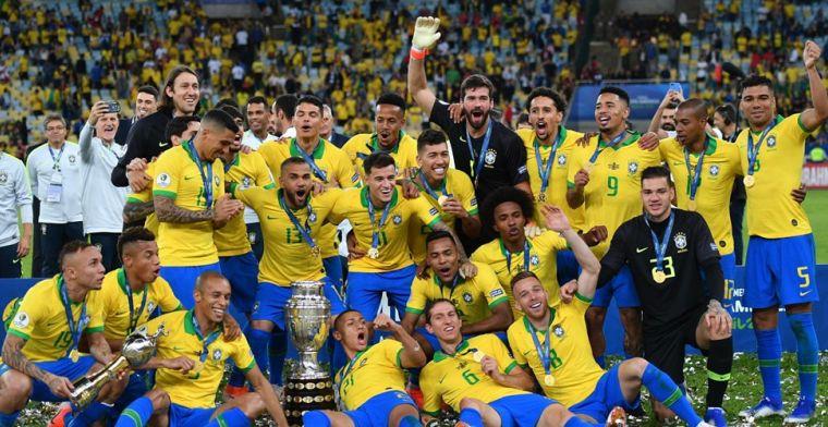 Brazilië hekelt uitspraken Messi na Copa América-winst: 'Meer respect tonen'