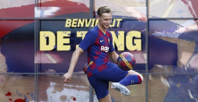 'De Jong wil geen extra druk en bedankt voor iconisch rugnummer bij Barcelona'