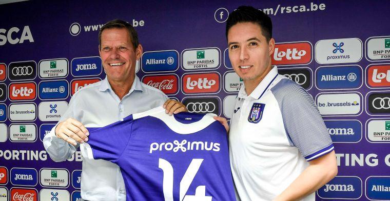 Nasri ziet Anderlecht als opstapje naar nieuwe carrière: 'Veel leren van Vincent'