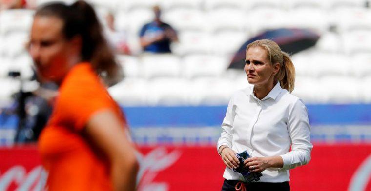 'Waarom zou Wiegman niet in de Eredivisie kunnen werken? Ik wil dat weleens zien'