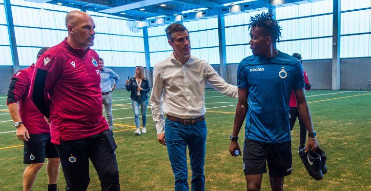 Okereke gaat brokken maken bij Club Brugge: Serie B is niet te onderschatten