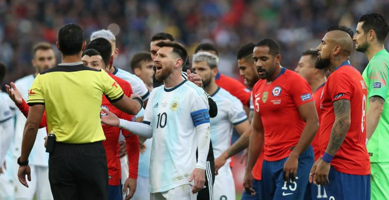Messi moet vrezen voor schorsing van twee jaar (!) na Copa América-tirade