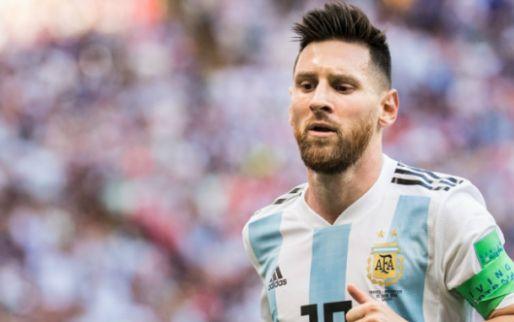 Afbeelding: De Visser haalt uit: 'Een focking schande dat Messi in het shitelftal zit'