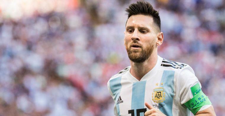 De Visser haalt uit: 'Een focking schande dat Messi in het shitelftal zit'