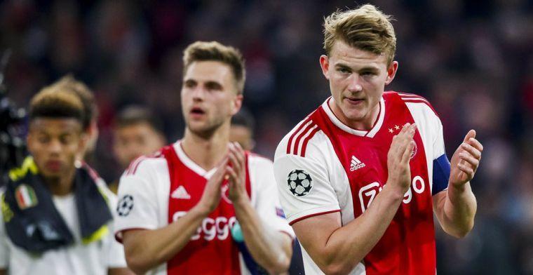 'Ajax geeft niets toe: Juventus gaat bod op De Ligt in komende uren verhogen'