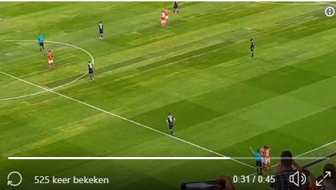 Oefenmatch van Anderlecht tegen Benfica wordt stilgelegd voor prachtig moment