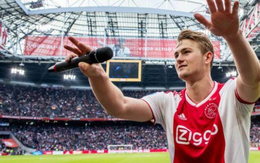 OFFICIEEL: Ajax incasseert 75 miljoen en rondt megadeal De Ligt af