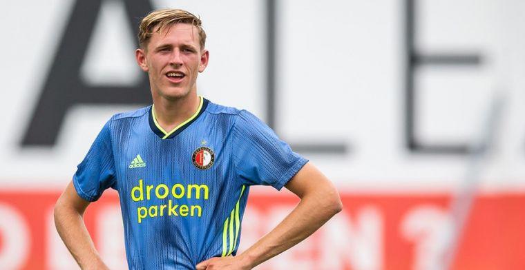 Burger sluit tijdelijk Feyenoord-vertrek niet uit: 'Maar Ajax nooit van m'n leven'