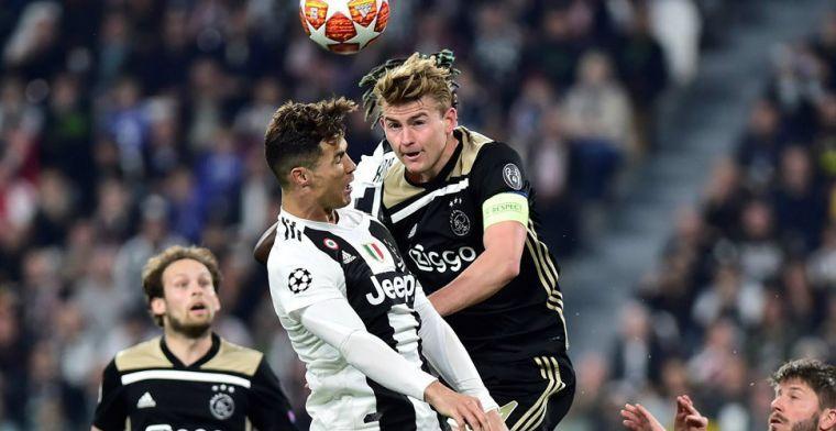 'De Ligt is extra miljoenen die Ajax vraagt waard, Juve kan hem niet laten lopen'